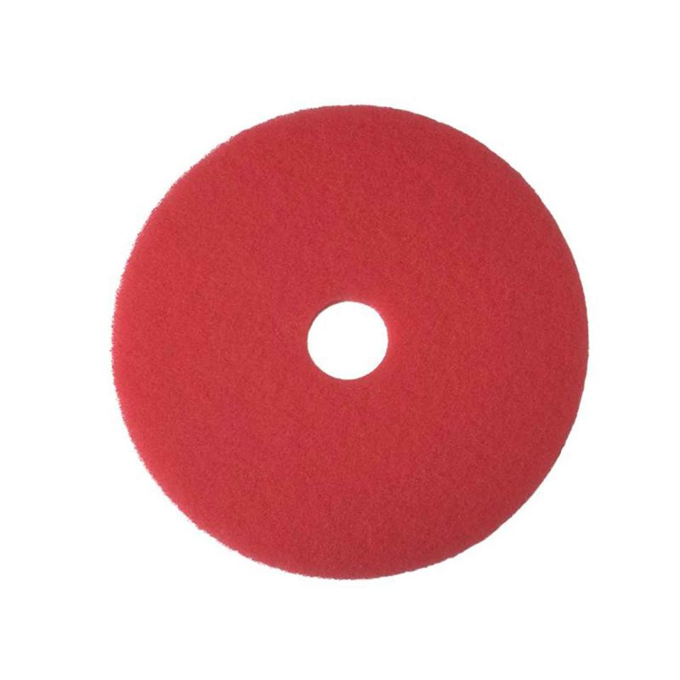 3M 5100 Buffing/cleaning Pads Red 40cm Carton 5