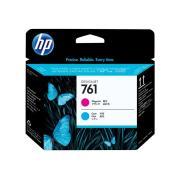 HP 761 Magenta & Cyan Printhead - CH646A