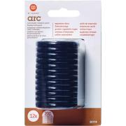 M By Staples ARC System 38mm Rings Notebook Expansion Disc Black 12/Pack