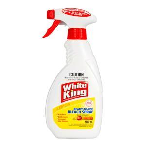 White King Bleach Surface Spray Ready To Use Lemon 500ml
