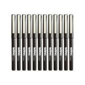 Winc Fineliner Felt Tip Pen Fine 0.5mm Black Box 12