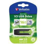 Verbatim Store 'n' Go V3 USB 3.0 Flash Drive 16GB Eucalyptus Green