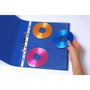 Marbig CD/DVD Sheet Protector Pockets Pack 10