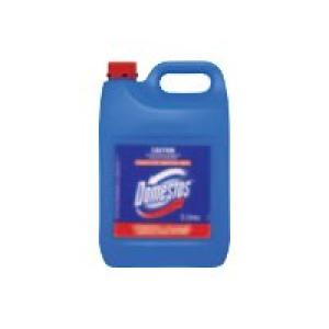 Domestos 5312581 Disinfectant Hospital Grade Regular 5 Litre Image