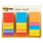 Post-It Super Sticky Notes Waterfall Assorted Colours 76 x 76mm Pack 15