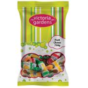 Victoria Gardens Wrapped Fruit Chews 750g