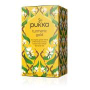 Pukka Tumeric Gold Enveloped Tea Bags Pack 20