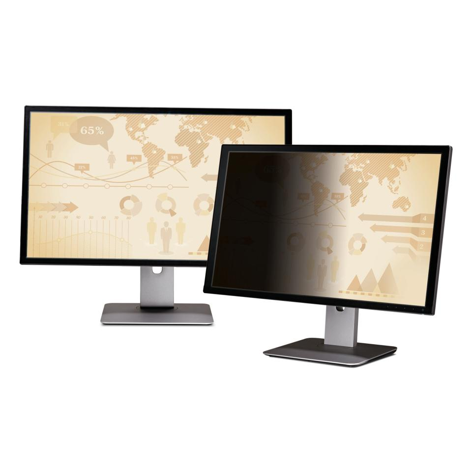 3M Privacy Filter for 20.1 Inch Widescreen Desktop Monitor Black