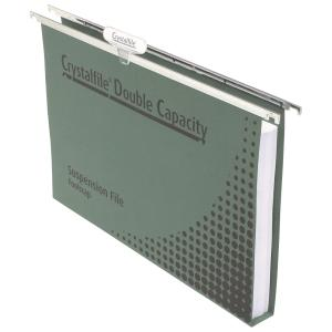 Crystalfile Suspension File Manilla Board 300 Sheet Capacity 100% Recyclable Green Pack 50