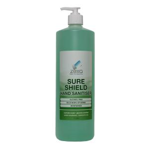 Zexa Sure Shield Hand Sanitiser 1L