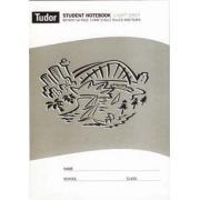 Tudor Botany 64 Pages Single Ruled Light Grey 10mm