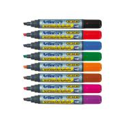 Artline 579 Whiteboard Marker Chisel Assorted Colours Box 12