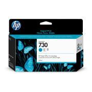 HP 730 130-ml Cyan Designjet Ink Cartridge -P2v62a
