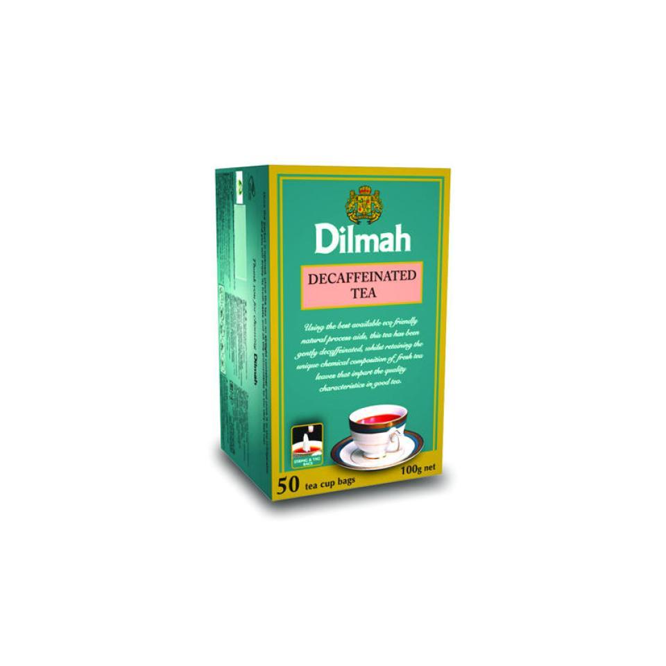 Dilmah Tea Bags Decaffeinated Pkt 50