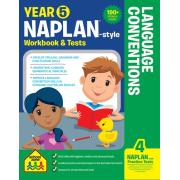 School Zone Year 5 Language Conventions Naplan-style Workbook And Tests