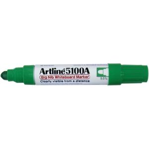 Artline 5109A Big Nib Whiteboard Marker Chisel Tip 10.0mm Green