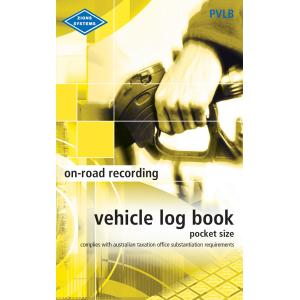Zions Pvlb Vehicle Log Book 180x110mm Pocket Softcover