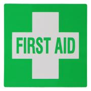 Uneedit First Aid Sticker Small Green 60mmX60mm
