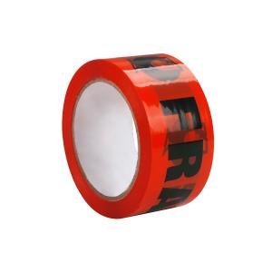 Winc Fragile Tape Orange/Black 50mm x 75m Each