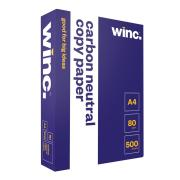 Winc Carbon Neutral Copy Paper A4 80gsm White Ream 500