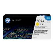 HP LaserJet 502A Yellow Toner Cartridge - Q6472A