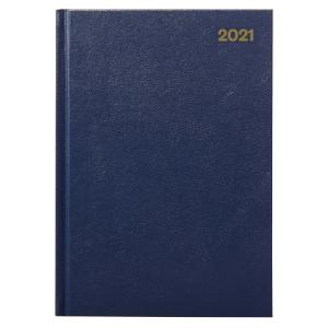 Winc 2021 Hardcover Diary A4 2 Days to Page Navy