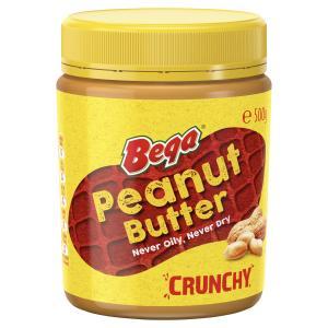 Bega Crunchy Peanut Butter 500g Jar