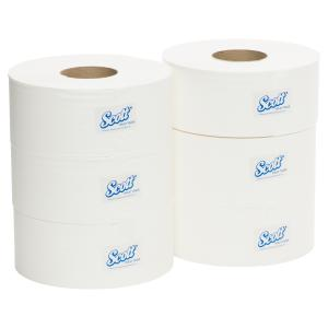 Scott 5748 Jumbo Toilet Roll White 600m Carton 6
