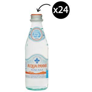 Acqua Panna Still Mineral Water Glass Bottle 250ml Carton 24