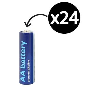 Winc AA Premium Alkaline Battery Box 24