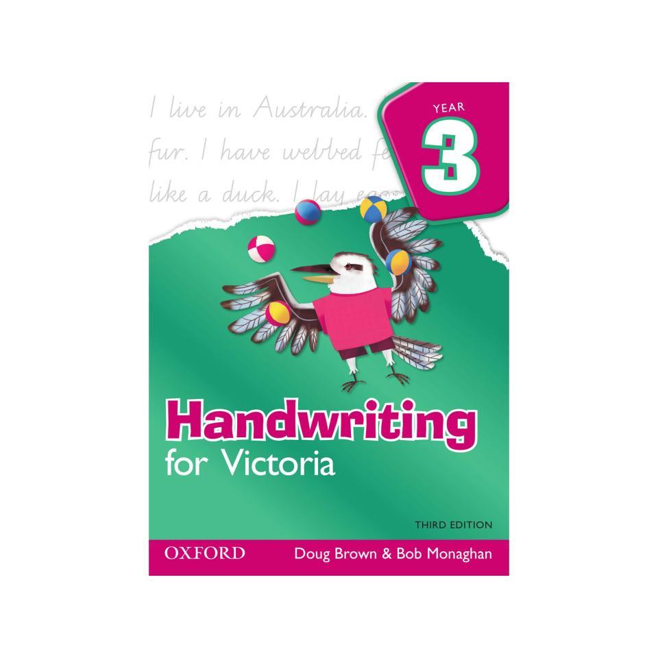 Oxford University Press Handwriting for VIC 3rd Edition Year 3 Doug Brown