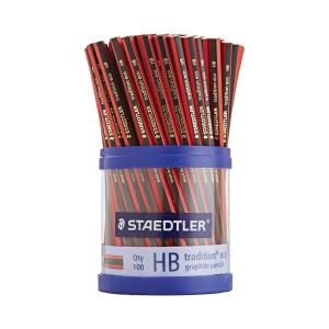 Staedtler Tradition Eco WOPEX Graphite Pencils HB Cup 100