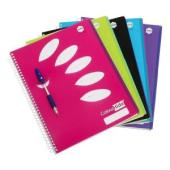 Marbig Notebook Colourhide A4 5 Subject 250 Assorted