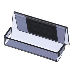 Esselte Avante Business Card Holder 40 Capacity Smoke
