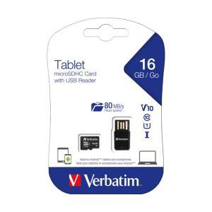 Verbatim Tablet U1 Microsdxc Card With Usb Reader 16gb
