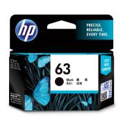 HP 63 Black Ink Cartridge - F6U62AA