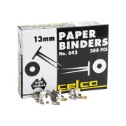 Celco 0006420 Paper Binder No.642 13mm Box 200
