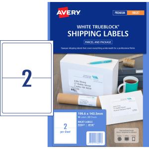 avery 8168 template - avery shipping labels with trueblock for inkjet printers