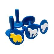 Educational Colours Paint Stampers Farm Animals Set 6
