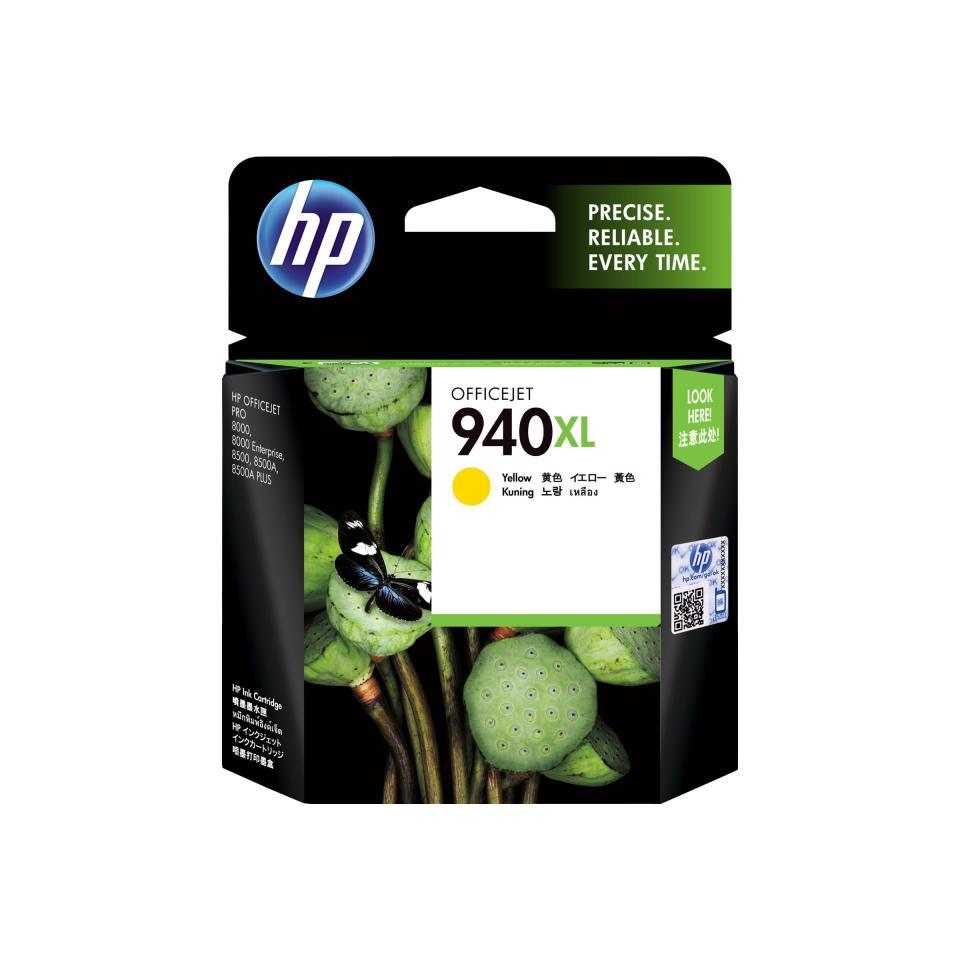 HP 940XL Yellow Ink Cartridge - C4909AA