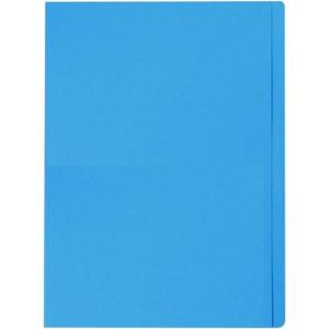 Staples Manilla Folder Foolscap Blue Box 100