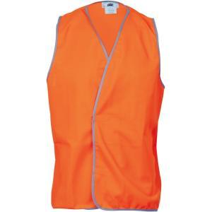 Vest Hi-vis Dnc Xxxl Orange Day Use Each
