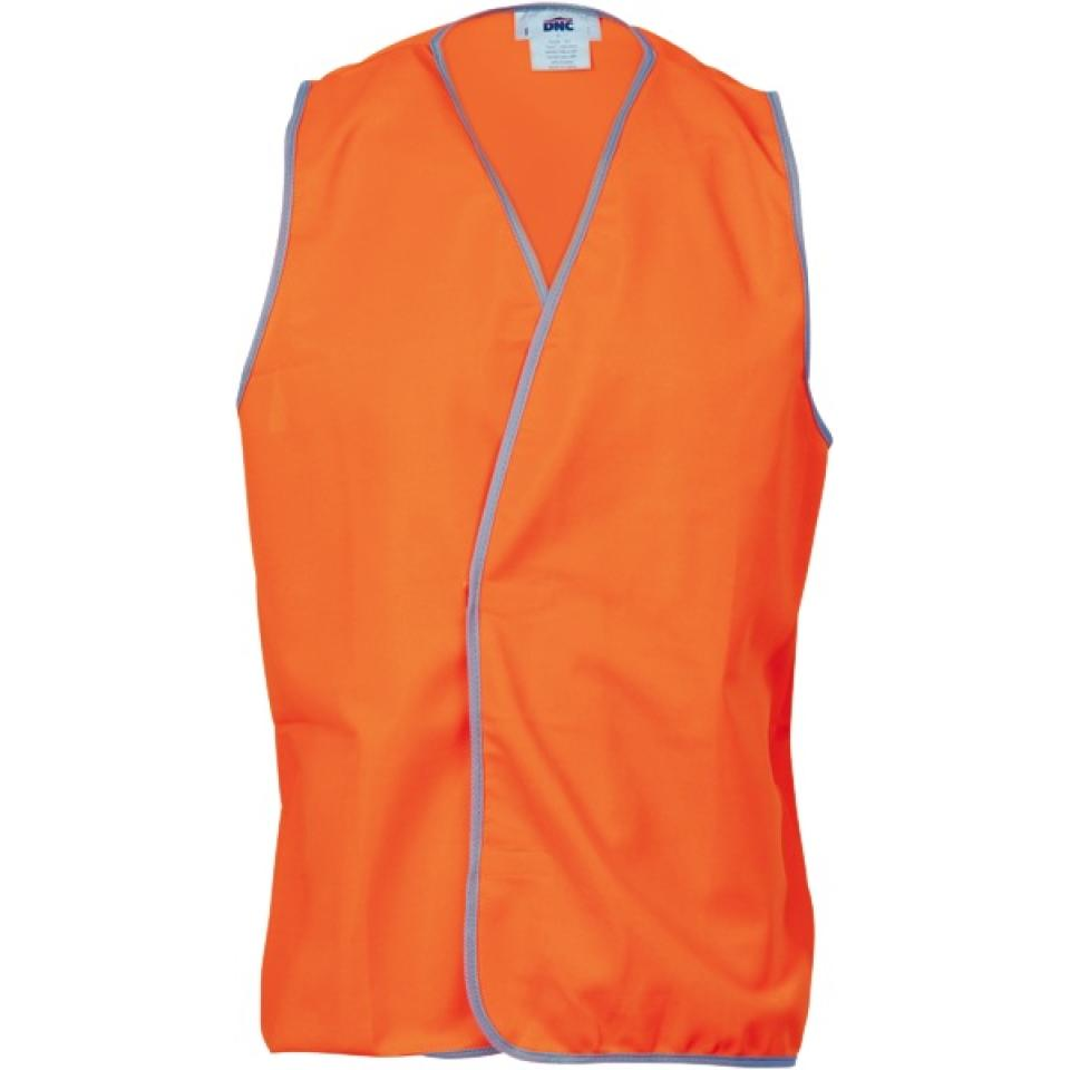 Vest High Visibility is 3XL Orange Day Use