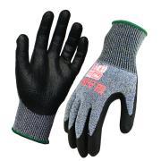 ProChoice Arax Touch Gloves Cut Resistant PU Palm Grey Pair