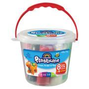 Colorific Plasticine Funtubulous 600gm Bucket