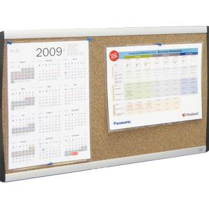 Quartet arc cubicle cork bulletin board 610x360mm Cubicle bulletin board ideas