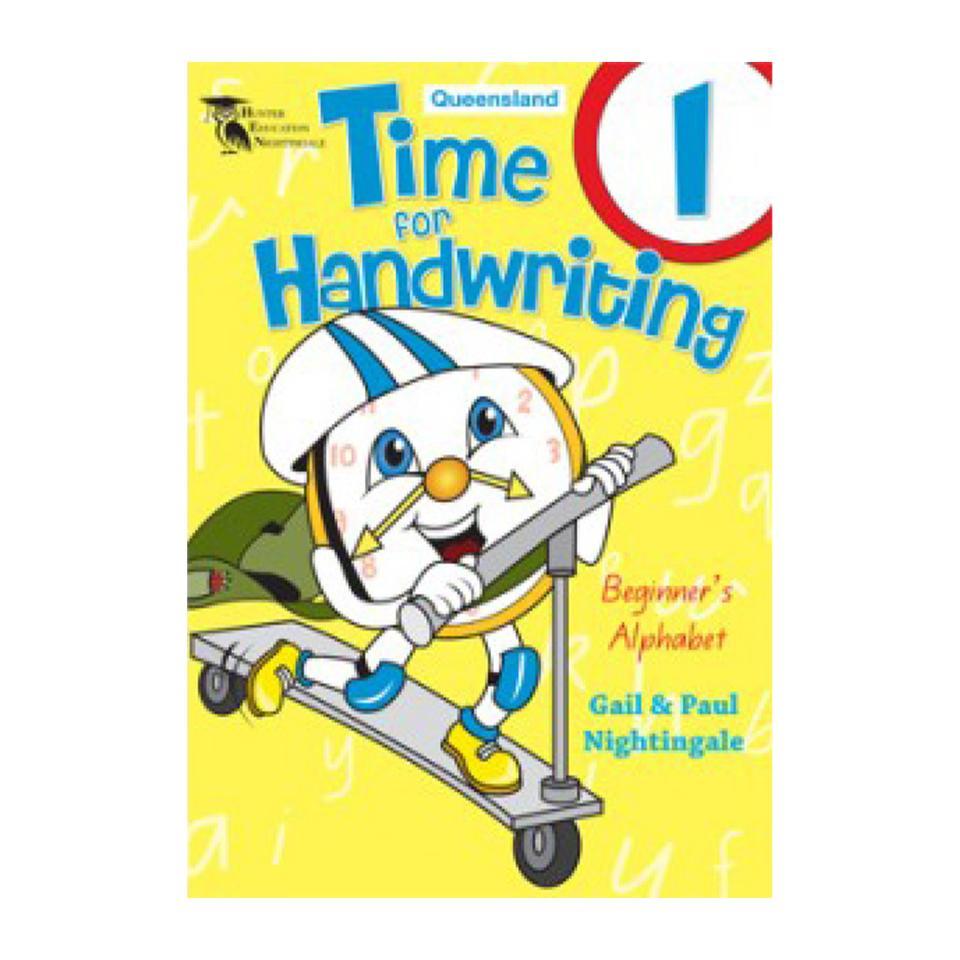 Time For Handwriting 1 Queensland Paul Nightingale