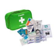 First Aid Kit Complete National Code Vehicle Soft Green Case Basic