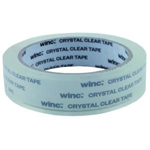 Winc Office Tape 24mmx66m Crystal Clear Roll