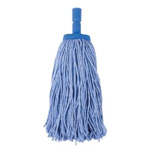 Cleera Mop Head Coloured 400gm Blue